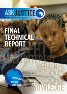 ASK Justice Final Technical Report