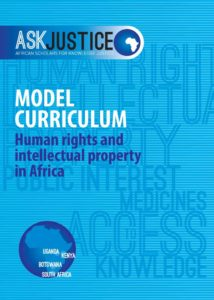Model Curriculum: Human rights and intellectual property in Africa